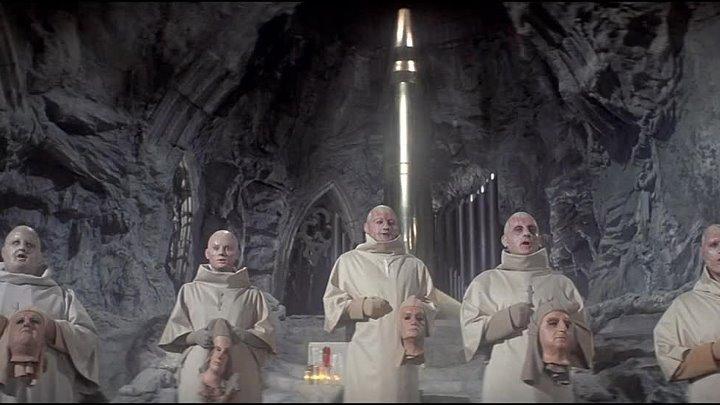 Под поверхностью планеты обезьян (1970) - Молебен священной бомбе