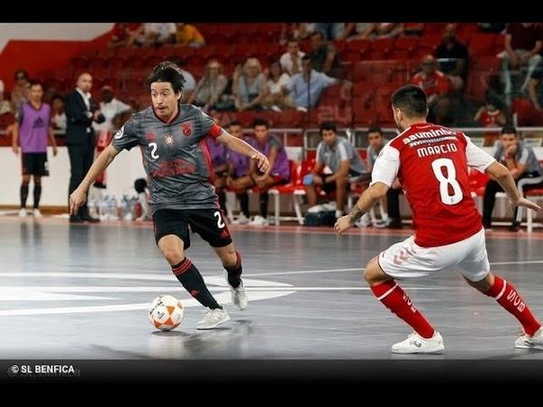 Liga Placard Futsal 2019/20 - SC BRAGA VS BENFICA FUTSAL (Full Match) HD