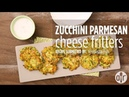 How to Make Zucchini-Parmesan Cheese Fritters | Appetizer Recipes | Allrecipes