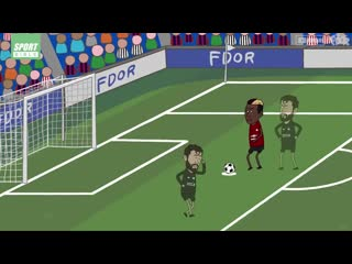 How Paul Pogba takes a penalty...