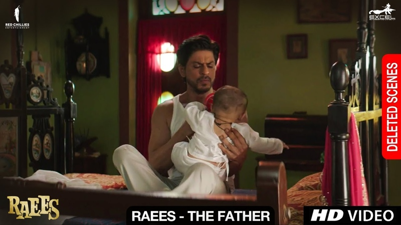 Raees The Father Deleted Scene Shah Rukh Khan Mahira Khan Nawazuddin Siddiqui