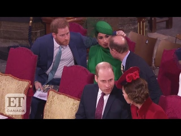 Prince William And Kate Middleton's 'Awkward' Greeting For Prince Harry And Meghan Markle