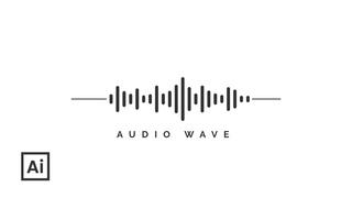 How Create Simple Audio Wave in Illustrator