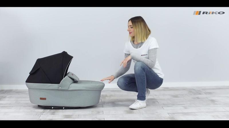 Riko Basic tani wózek dziecięcy 3w1 2w1