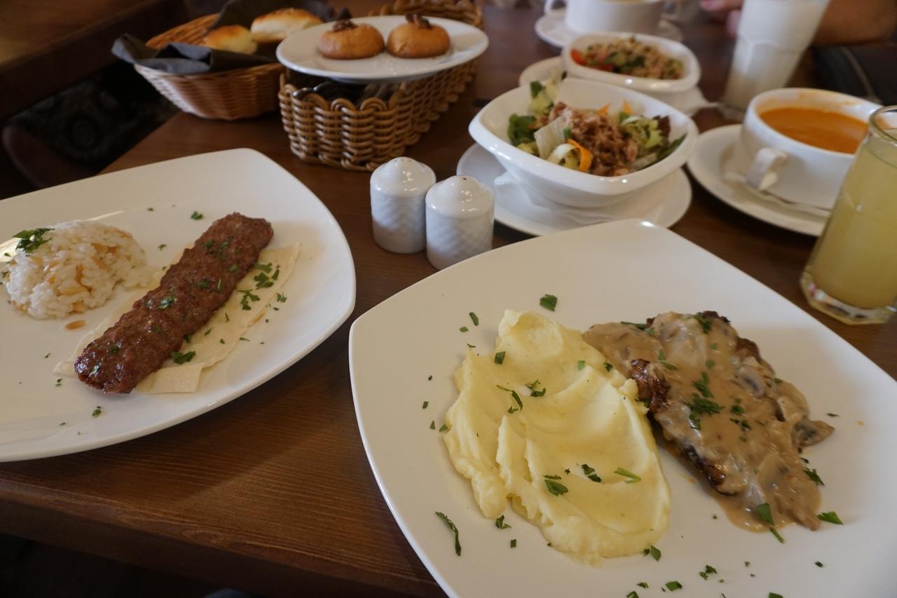 Бизнес-ланч в турецком кафе Софра на Китай-городе. Обзор