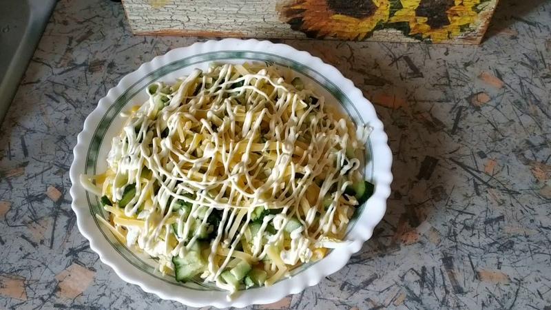Стройнею вкусно ♥ Кальмаровый салат рецепт