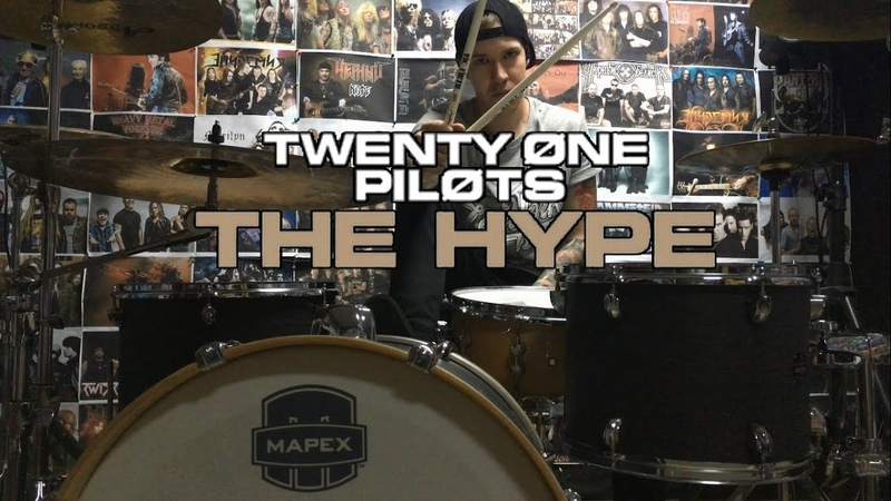 The Hype - Twenty One Pilots - Drum Cover (Josh Dun) and Drum Solo