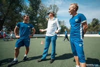 """Постоянное развитие - важная составляющая футбольной школы """"Юниор""""."""