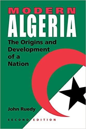 Modern Algeria The Origins and Development of a Nation