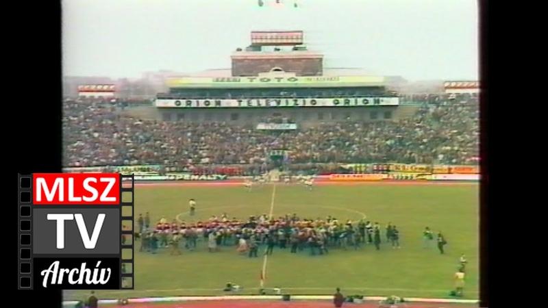 Magyarország Brazília 3 0 1986 03 16 MLSZ TV Archív