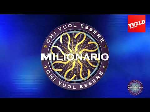 Chi Vuol Essere Milionario WWTBAM Italy Intro 2020 With US Clock Music TVOLD3