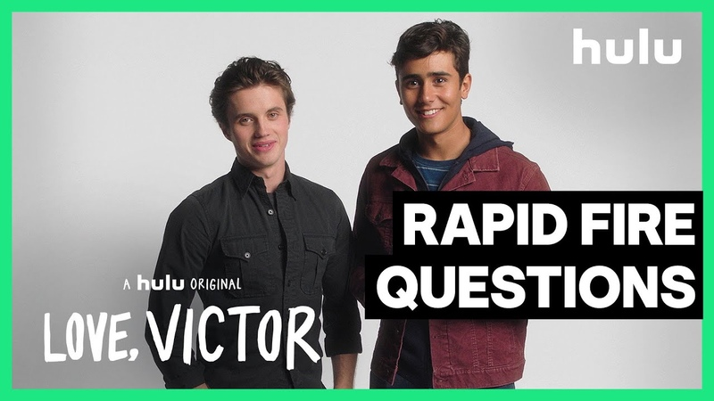 Rapid Fire Questions Michael Cimino and George Sear Love Victor A Hulu Original