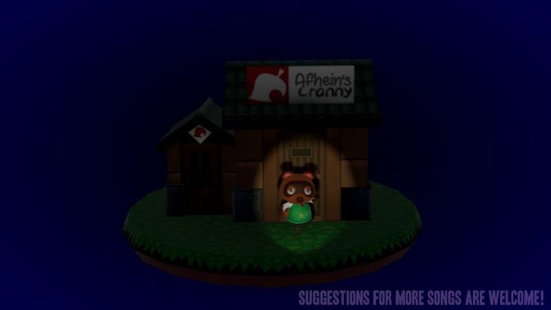 Tom Nook dancing to Take On Me by K K Slider Animal Crossing New Horizons