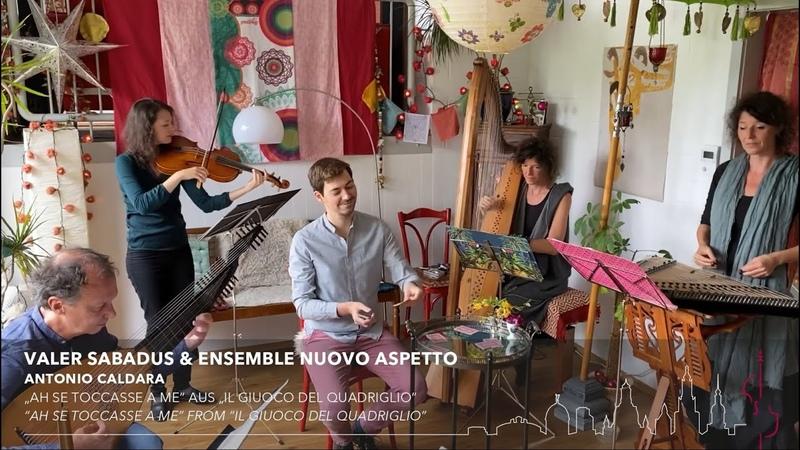 Valer Sabadus Ensemble Nuovo Aspetto Caldara Händel Predieri