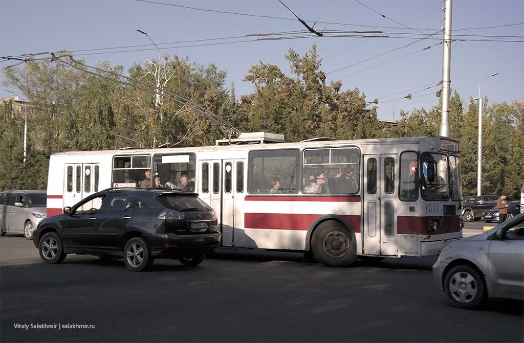 Троллейбус в Бишкеке, 2019