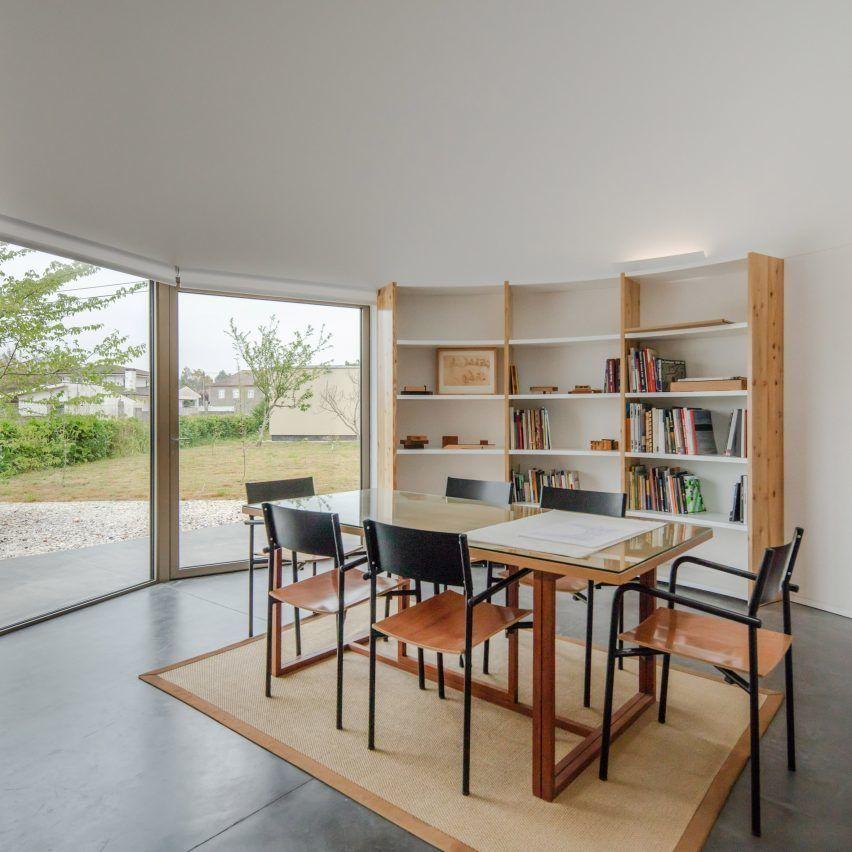 Three geometric volumes form Nelson Resende's architecture studio