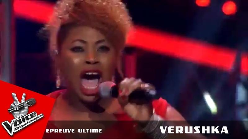 Verushka I have nothing Whitney Houston Epreuve ultime The Voice Afrique francophone 2016