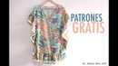 Costura vestido de playa para mujer (patrones gratis)
