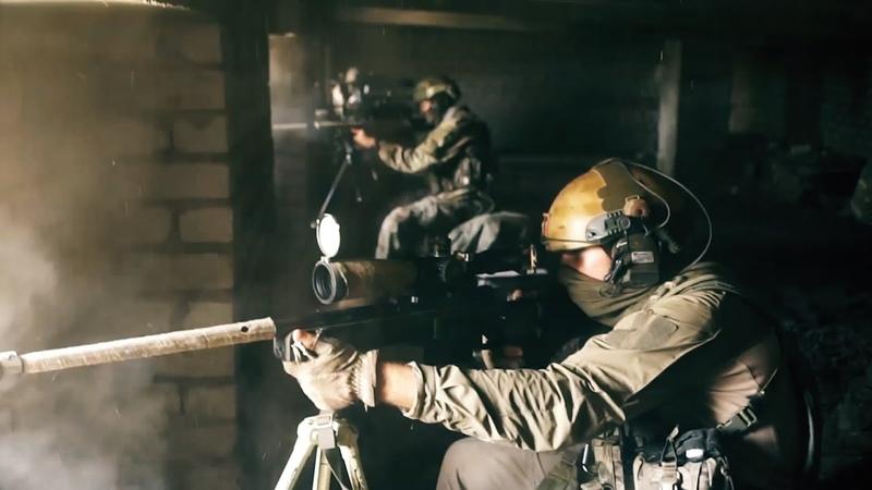 Выполнение сложнейших задач бойцами Сил специальных операций видео