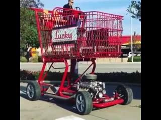 Когда жена сказала, мне машина нужна,, чтобы в магаз тебе за едой ездить