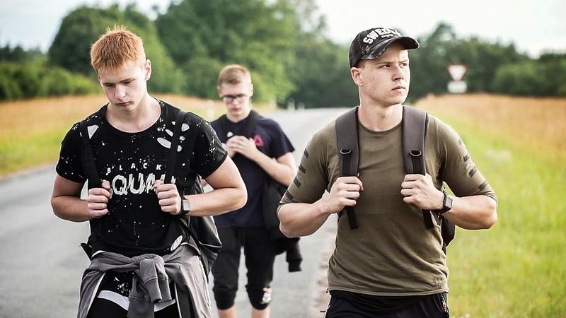 The 84 km Walk Valga Tartu Short Documentary