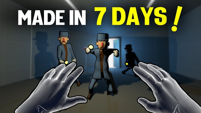 What I learned Making a VR Game in 7 DAYS