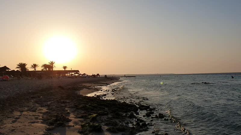 Остров Джерба Тунис август 2019