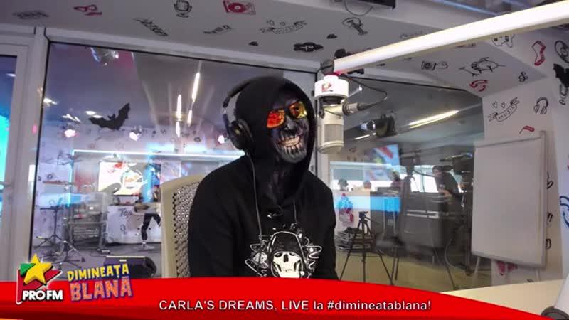 Carla's Dreams Live broadcast @ ProFM 30 10 19 PART 2