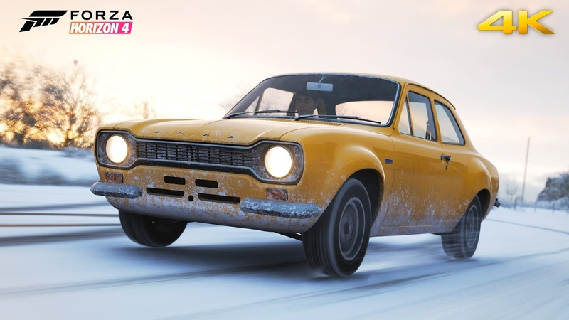FORD ESCORT RS1600 1973 115HP FORZA HORIZON 4 GOLIATH RACE GAMEPLAY