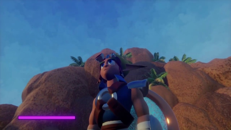 Jak and Daxter Dreams Remake Ps4 Early Geyser Rock Tour