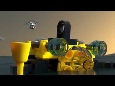 LEGO Creator 31096 Двухроторный вертолёт