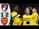 Борнмут Арсенал Обзор Матча 1-2 Кубок Англии 28 января 2020 г.