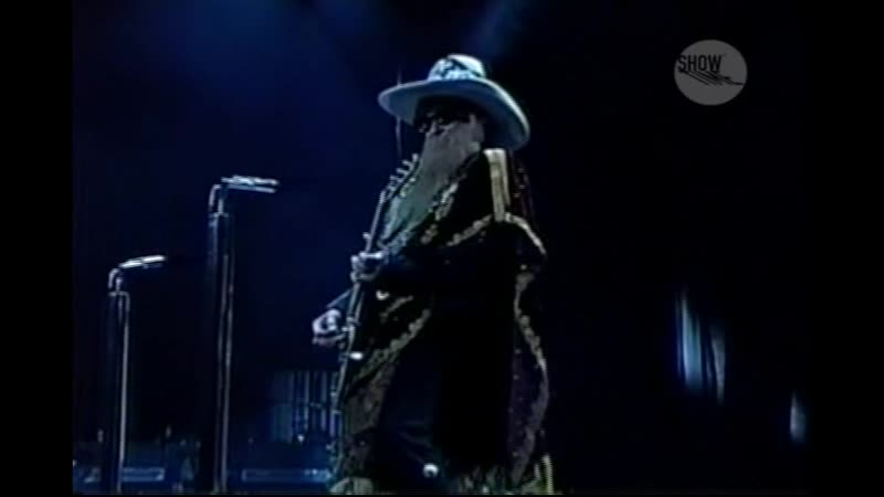 ZZ Top Wanted Live In New Jersey 2009