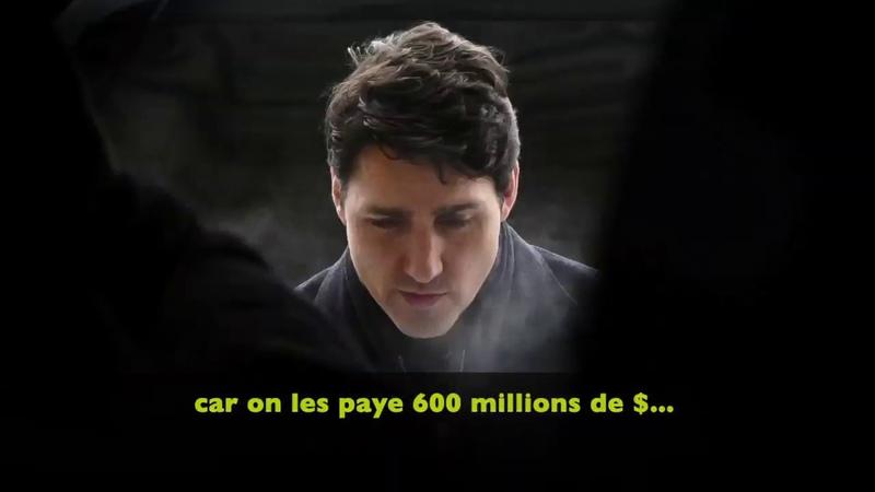 Le MK Humoriste Justin Trudeau en roue libre sur la corruption g n ralis e de la presse