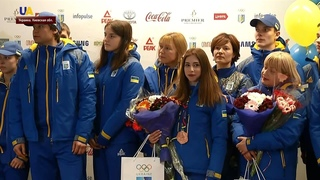 Юношеская сборная Украины вернулась с Европейского олимпийского фестиваля