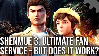Shenmue 3 The Digital Foundry Tech Review - A Quality Sequel To A Timeless Classic