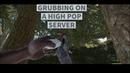 How to grub on high pop servers