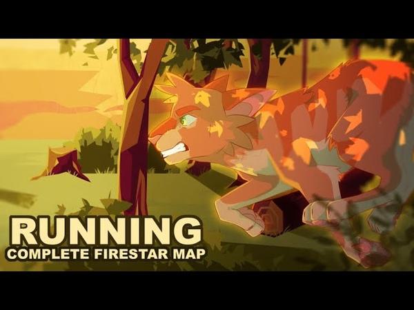 🔥 RUNNIN 🔥 COMPLETE FIRESTAR MAP