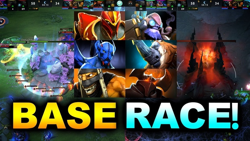 MEGACREEPS BASE RACE WAR vs BEASTCOAST ESL One Hamburg 2019 DOTA 2