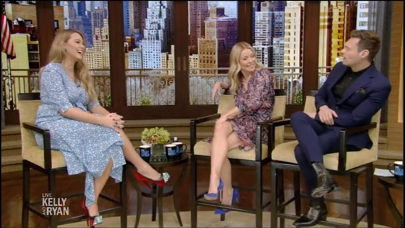 Live with Kelly and Ryan 03 19 2020 BLAKE LIVELY NOAH CENTINEO CURTIS JACKSON March 19 2020