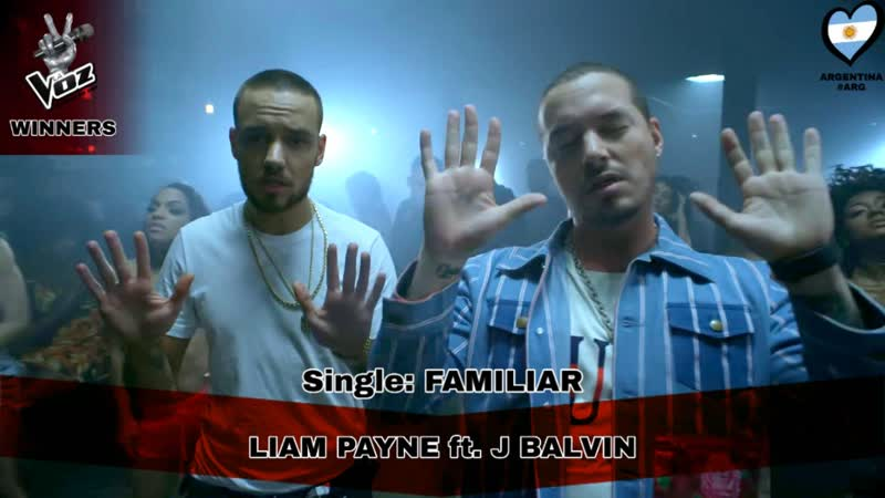 (ARG`37) Liam Payne ft. J Balvin - Familiar