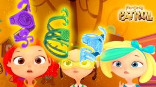 Fantasy Patrol 💜 Story 26 - The Secret of the Magic Café 🥤 Funny cartoons 💥 Moolt Kids Toons