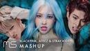 BLACKPINK x ATEEZ x STRAY KIDS – How You Like That Wonderland Side Effects KTL Horizon MASHUP