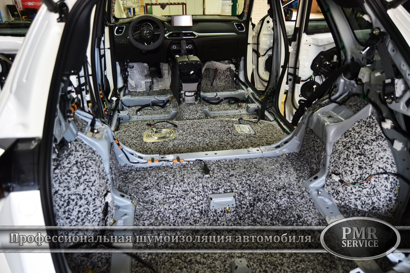 Шумоизоляция Mazda CX-9, изображение №10