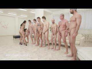 жесткая оргия Charlotte Sartre, Jureka Del Mar [BDSM, porno, Sex, kinky, hardcore, rough, бдсм, секс, порно, жестко]