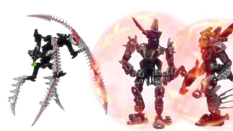 Бионикл гали мистика тест анимации
