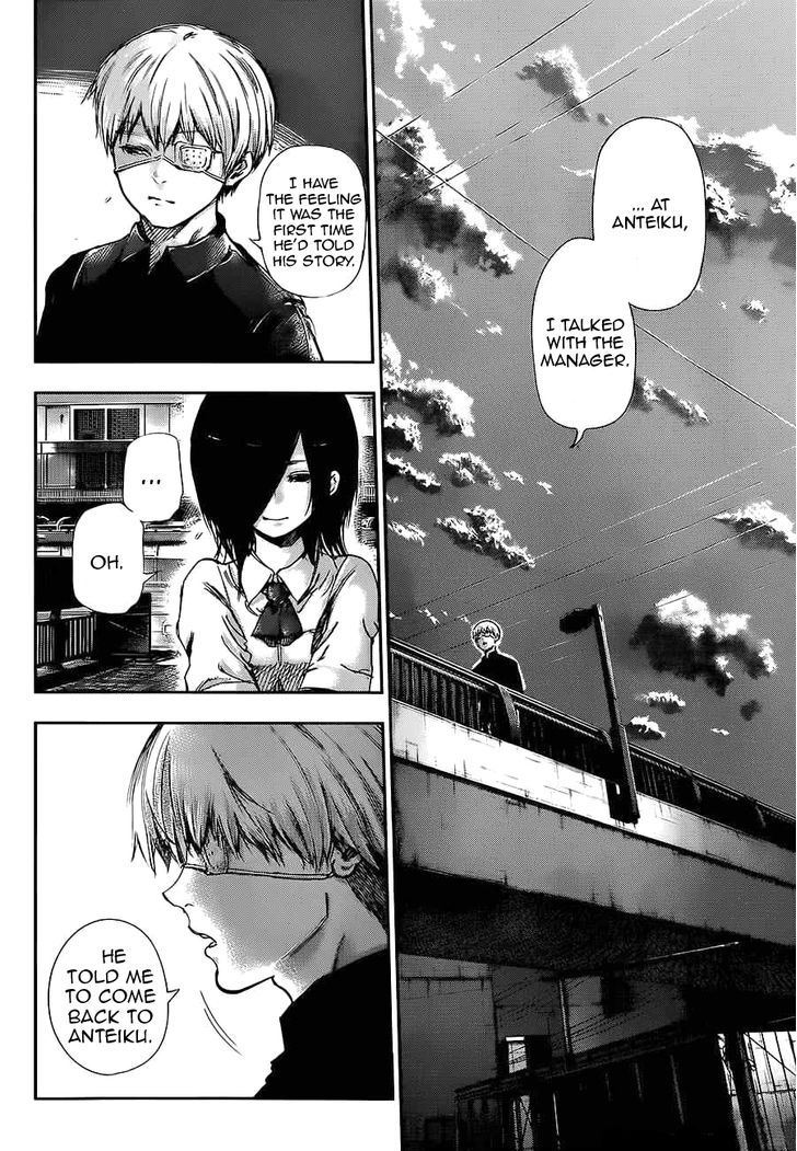 Tokyo Ghoul, Vol.12 Chapter 120 Touka, image #4
