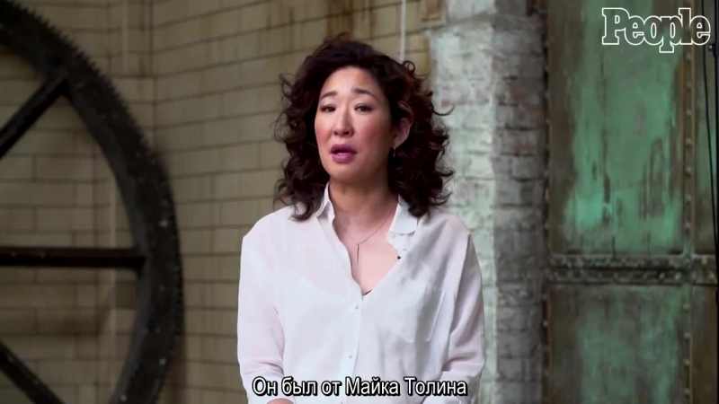 Sandra Oh Reveals The 'Grey's Anatomy' Prop She Stole Her Co Star Crush More In Q A PeopleTV RUS SUB