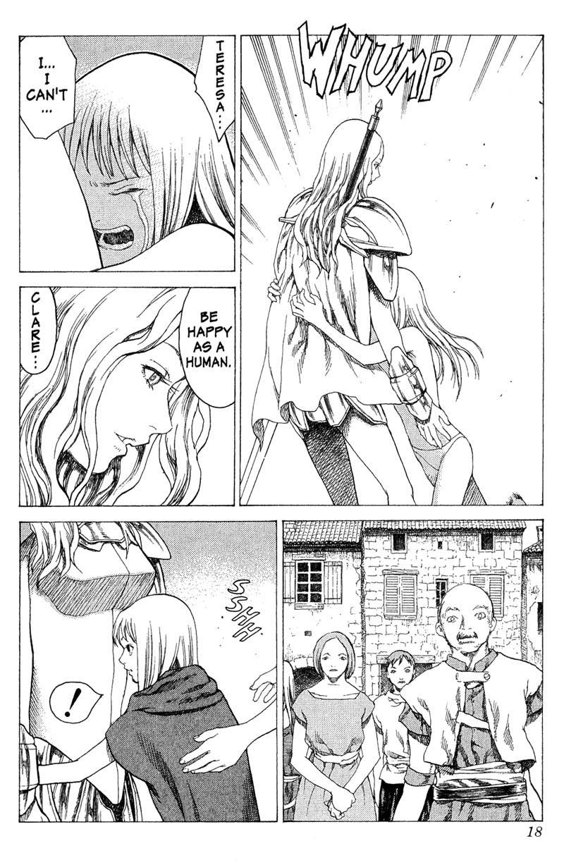 Claymore, Chapter 16, image #17