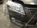 Наши работы по Toyota Rav-4 : Кузовной ремонт передних крыльев передней панели, ремонт переднего бампера, замена лобового стекла, а так же покраска передних крыльев, покраска капота, покраска переднего бампера Тойота Рав-4.